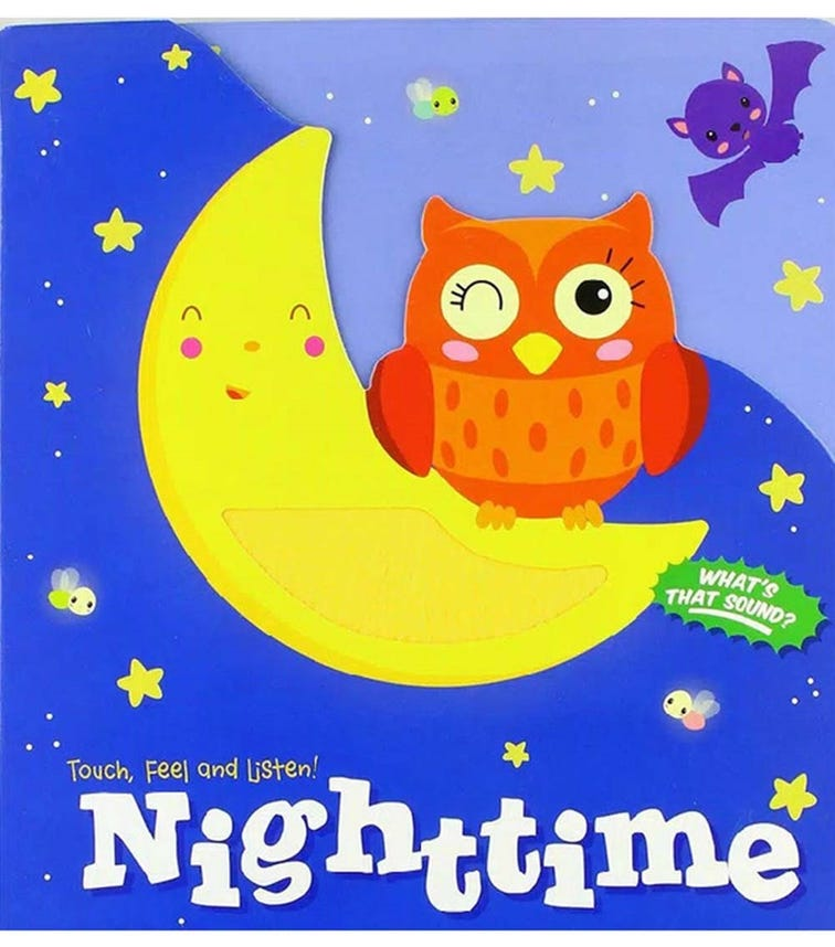 YOYO BOOKS Touch, Feel And Listen! Night Time