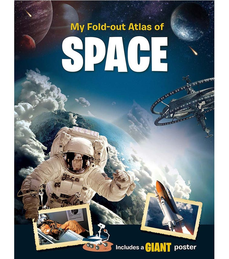 YOYO BOOKS My Fold-Out Atlas Of Space Includes A Giant Poster