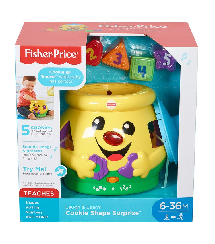 FISHER PRICE All Learning Cookie Shape Surprise