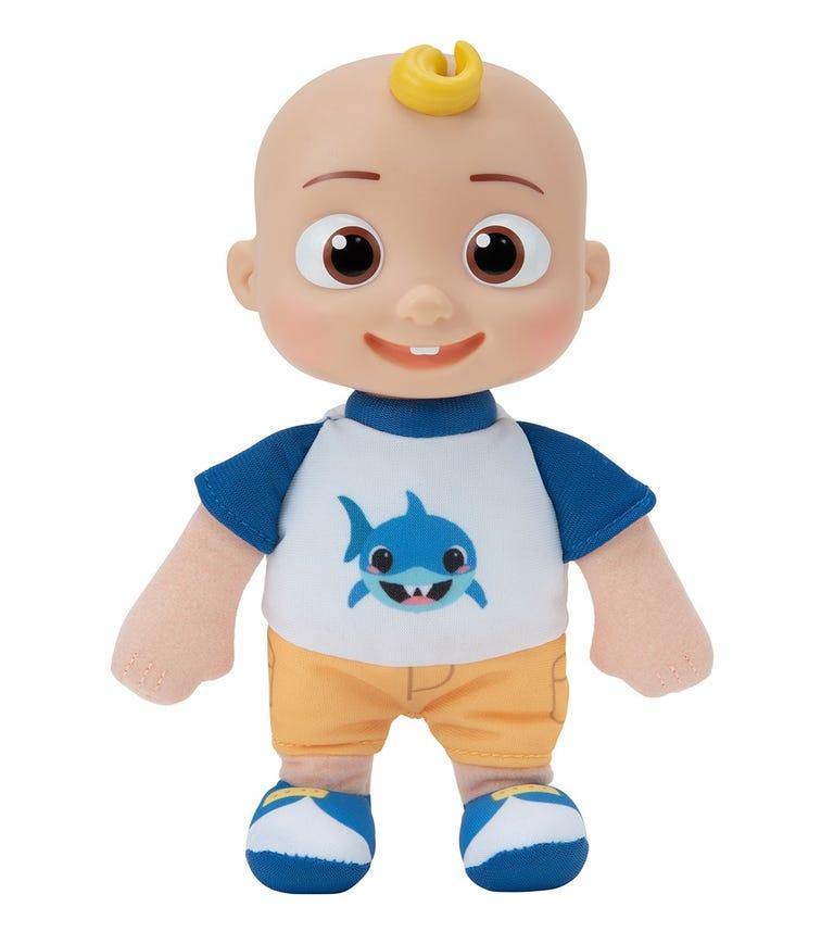 COCOMELON Little Plush JJ Shark Shirt