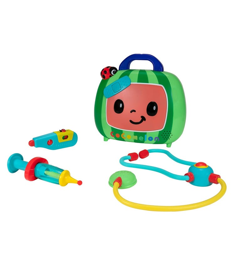 COCOMELON Feature Roleplay Musical Check-Up Case