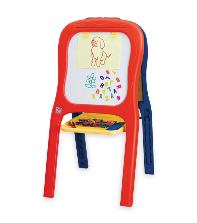 GROW N UP Magnetic Double Easel