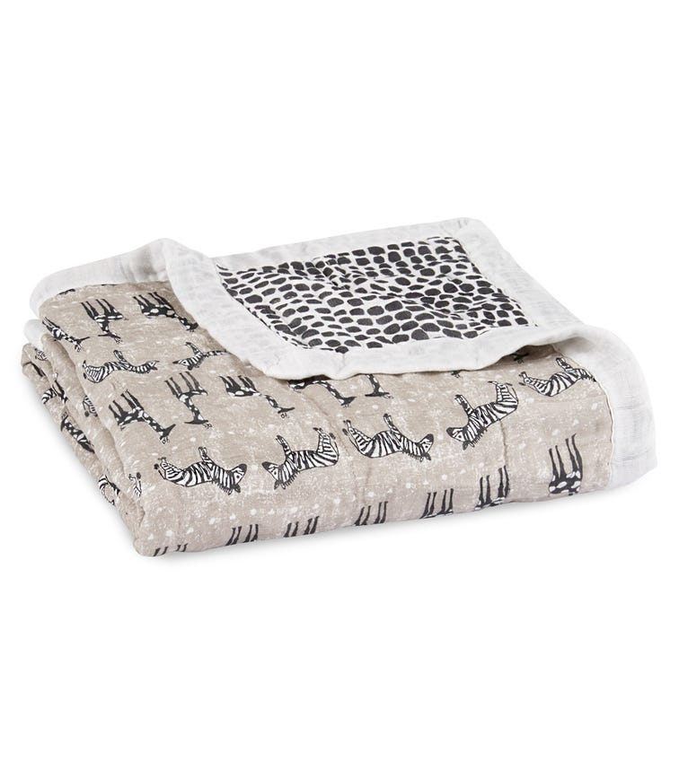 ADEN + ANAIS Silky Soft Dream Blanket - Sahara Motif
