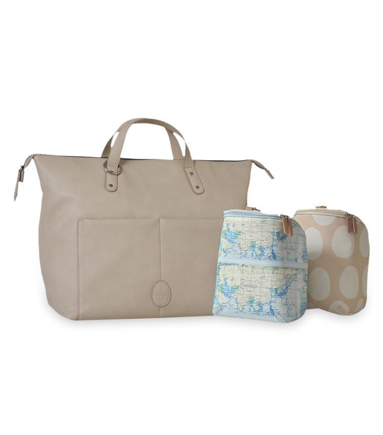 PACAPOD Saunton Changing Bag - Chalk