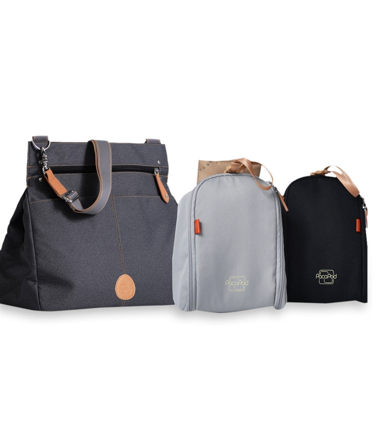 PACAPOD Oban Travel Bag - Black Charcoal