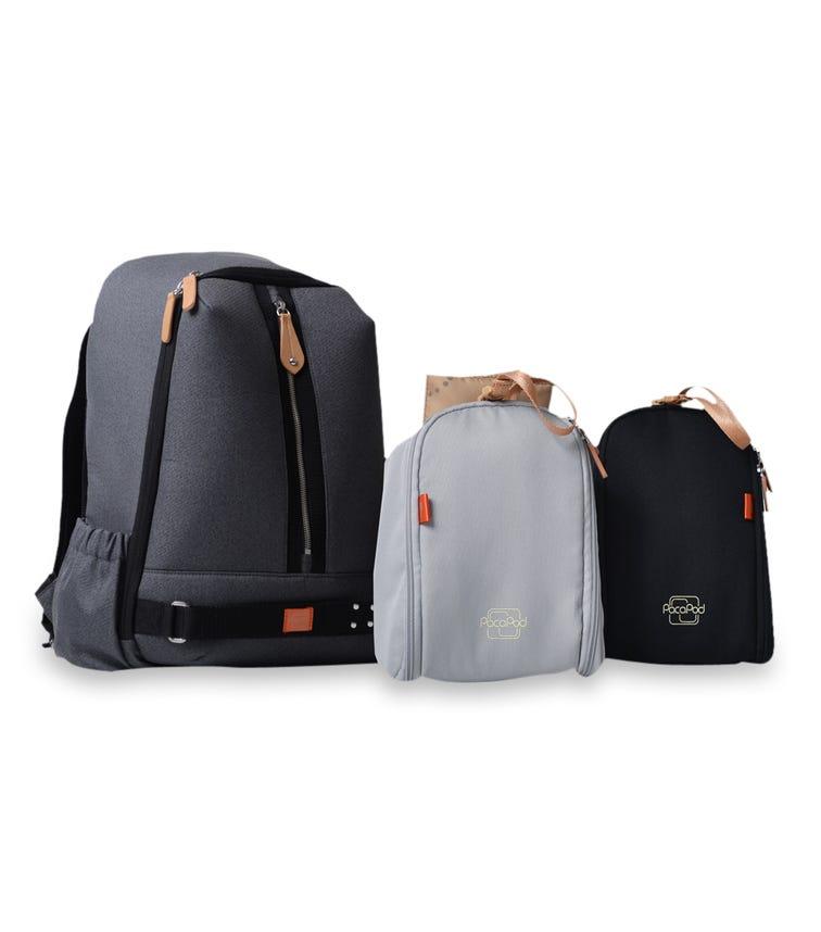 PACAPOD Picospack Travel Bag - Blackcharcoal