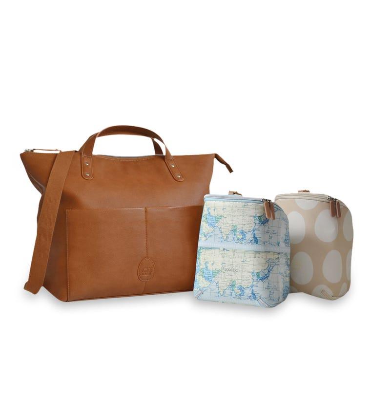 PACAPOD Saunton Changing Bag - Tan