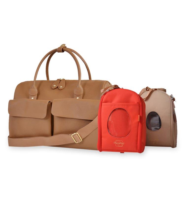 PACAPOD Loreto Travel Bag - Oak
