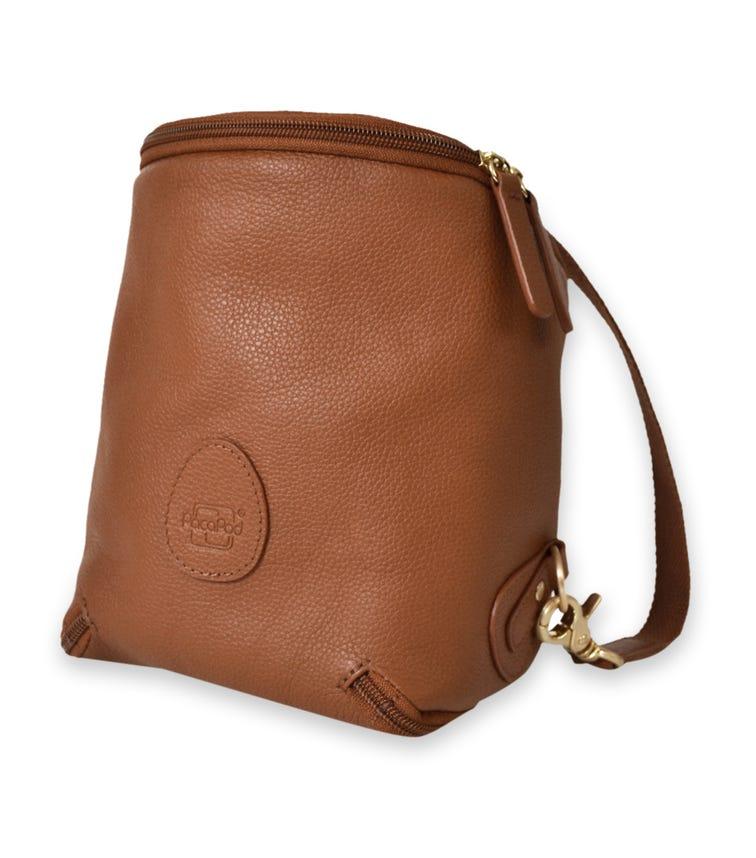 PACAPOD Fredom Pod Leather Diaper Backpack - Tan
