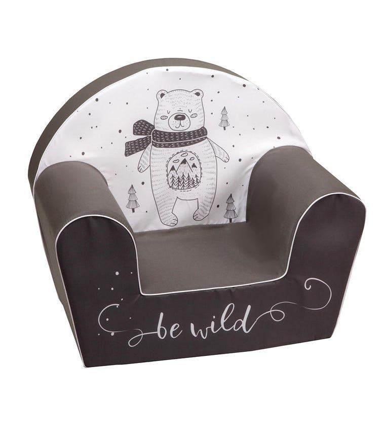 DELSIT Arm Chair Be Wild - Dark Grey
