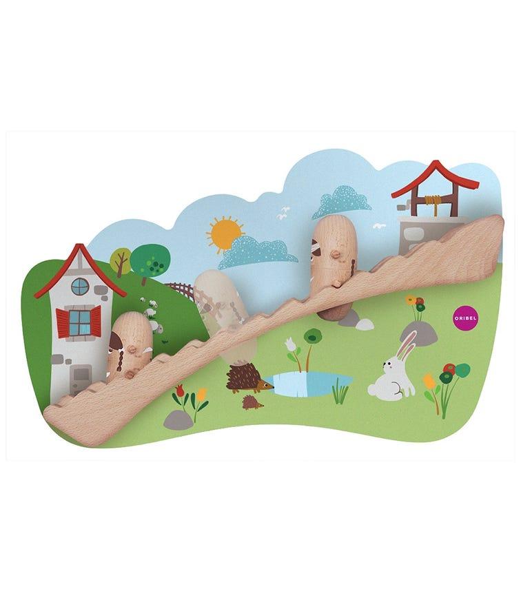 ORIBEL Vertiplay Wall Toy - Jack And Jill