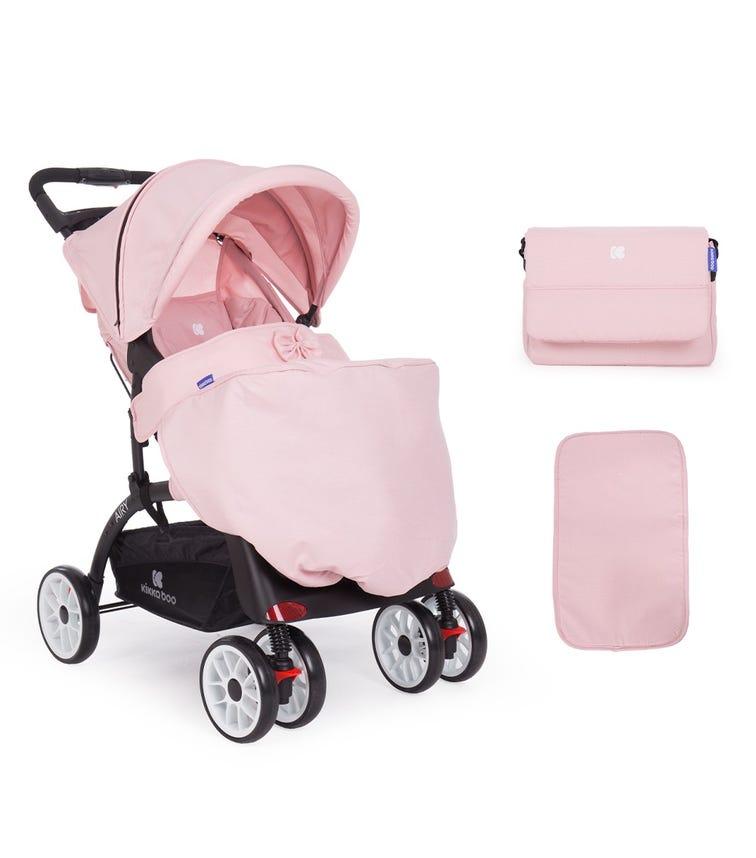 KIKKABOO Pushchair Airy Pink Melange