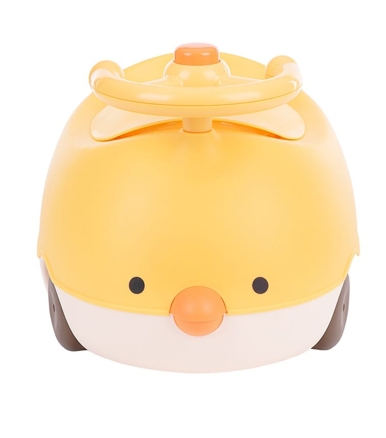 KIKKABOO Potty Chick Yellow