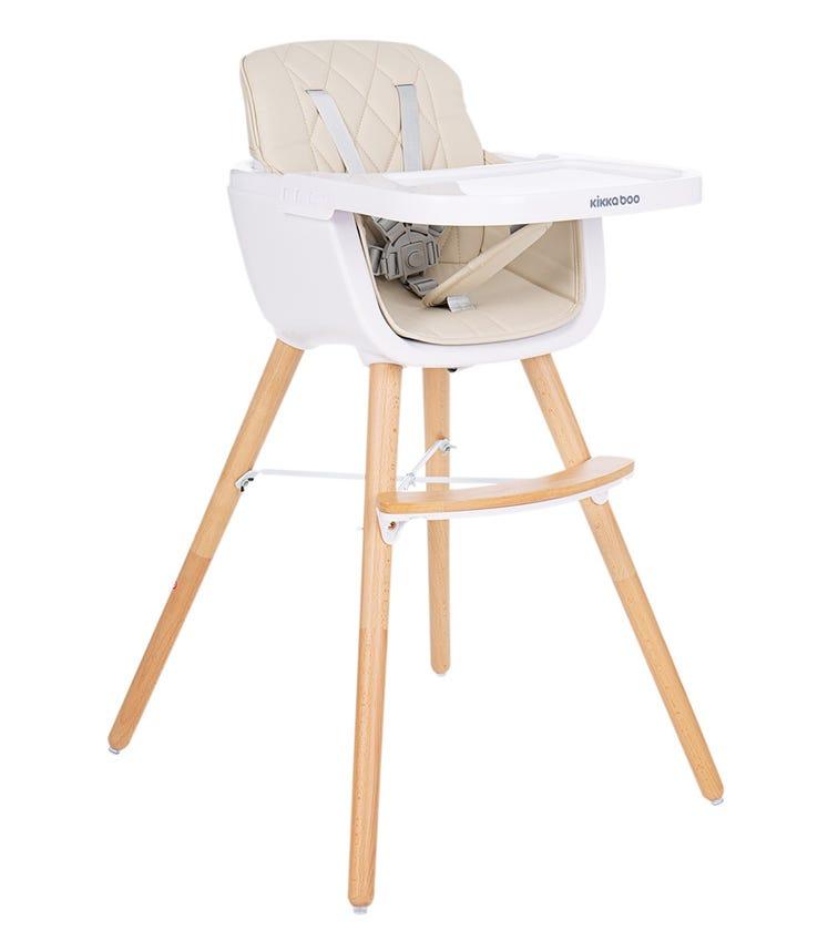 KIKKABOO Chair Woody Beige