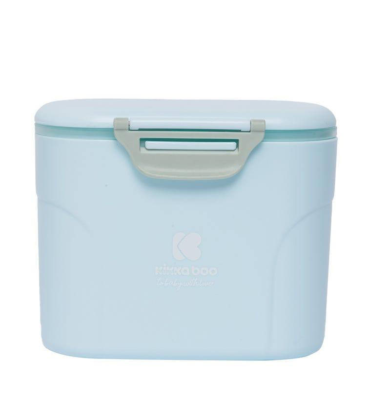 KIKKABOO Milk Powder Dispenser With Scoop 160G Blue