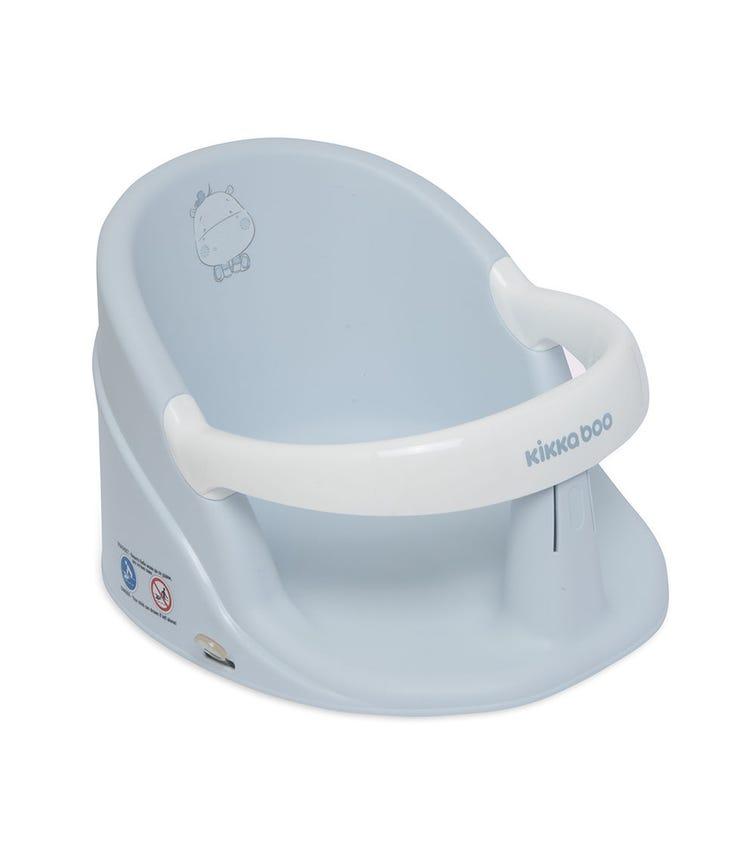 KIKKABOO Bath Seat Hippo Blue