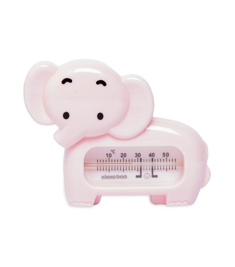 KIKKABOO Bath Thermometer Elephant Pink