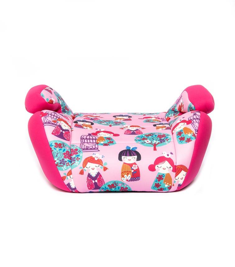KIKKABOO Car Seat 2-3 (15-36 KG) Jazzy Pink Dolls