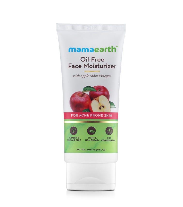 MAMAEARTH Oil-Free Face Moisturizer, Apple Cider Vinegar,80 ML