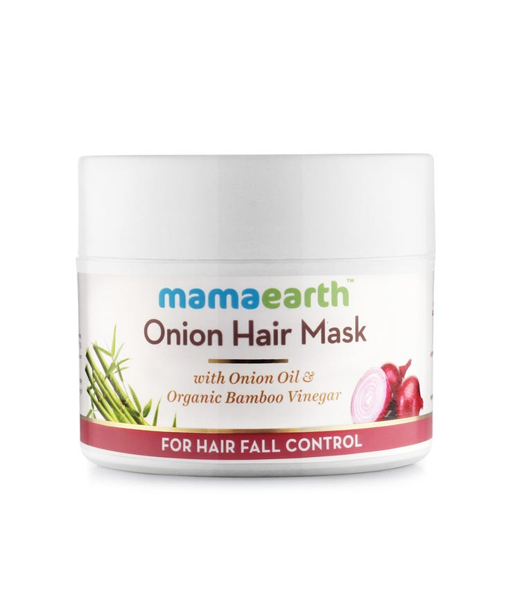 MAMAEARTH Onion Hair Mask, 200G