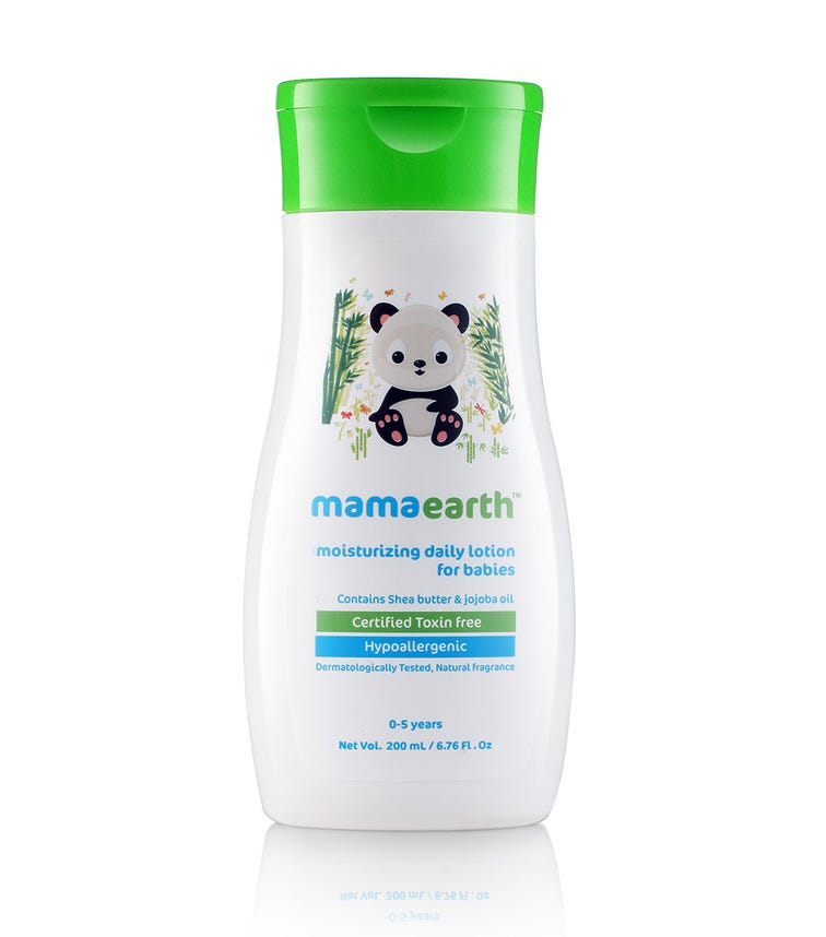 MAMAEARTH Moisturizing Daily Lotion For Babies, 200 ML