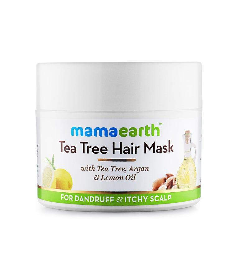 MAMAEARTH Tea Tree Anti Dandruff Hair Mask, 200 ML