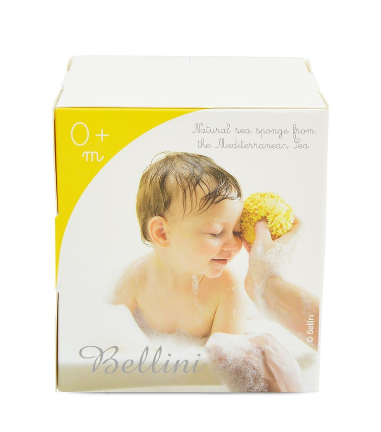 BELLINI Silk Fine Bleached Sponge No. 14, Extra Large, 9-10 cm