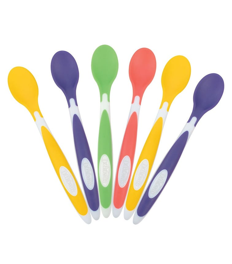 DR. BROWN'S Soft Tip Spoon 6 Pack