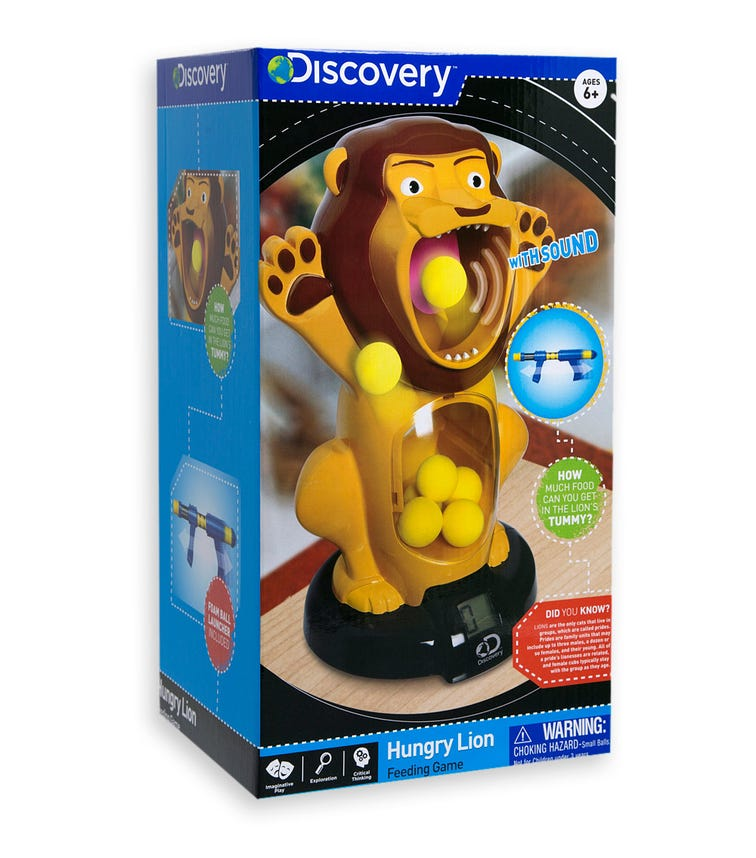 DISCOVERY - Hungry Lion Feeding Game
