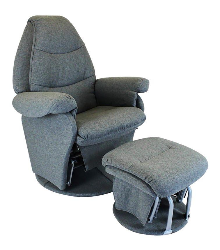 BABYHOOD Vogue Feeding Glider Chair Ottoman