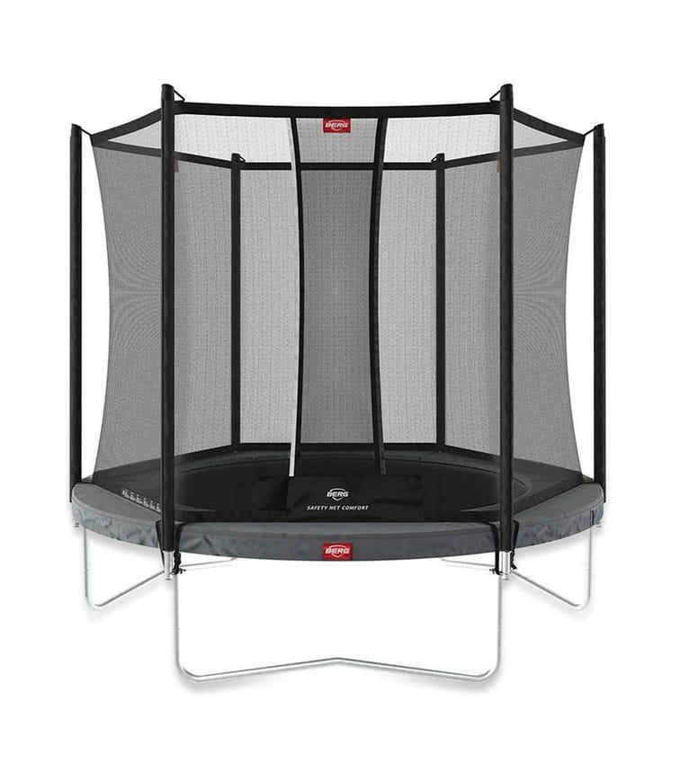 BERG Favorit 7ft Trampoline + Safety Net - Grey