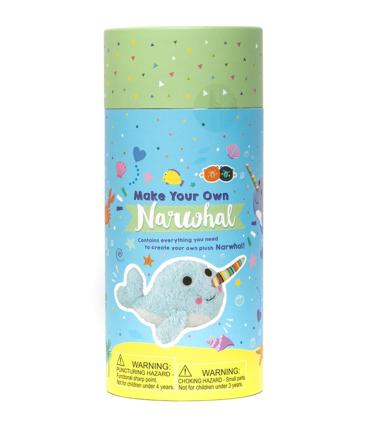 BUDDY & BARNEY Make Your Own Narwhal