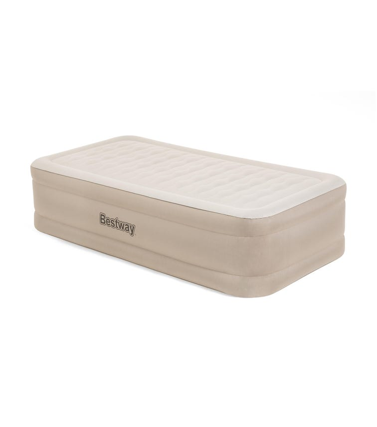 BESTWAY Airbed Twin With Built-In AC Pump - Begie