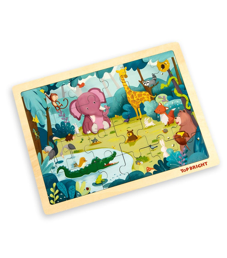 TOPBRIGHT Forest Animal Puzzle