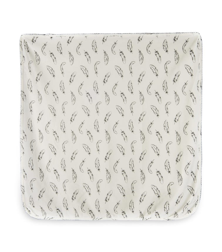 MOTHER'S CHOICE Organic Fabric Stretch Swaddle Wrap - White