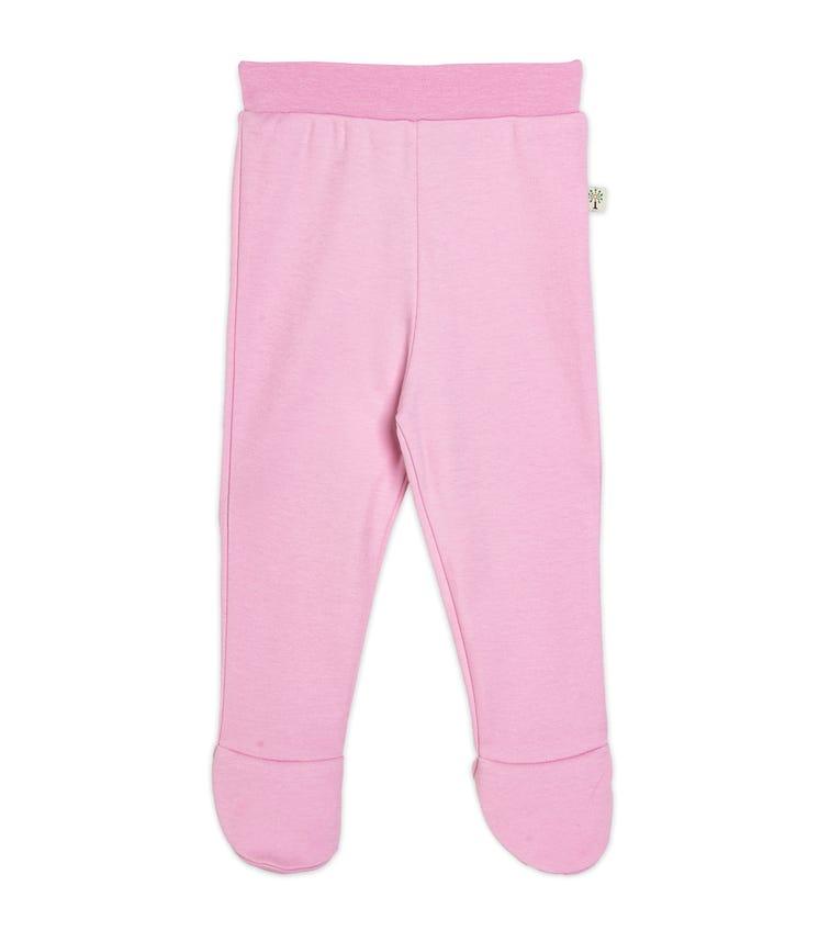 ORGANIC KID Pink Footed Pant