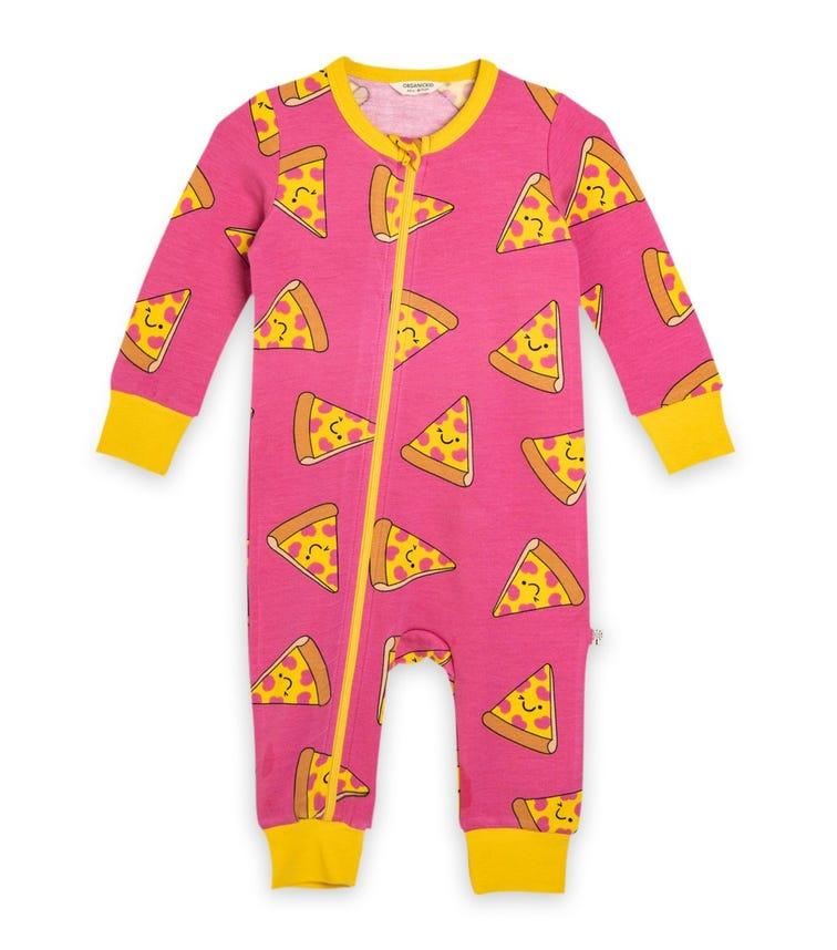ORGANIC KID Pizza Bodysuit
