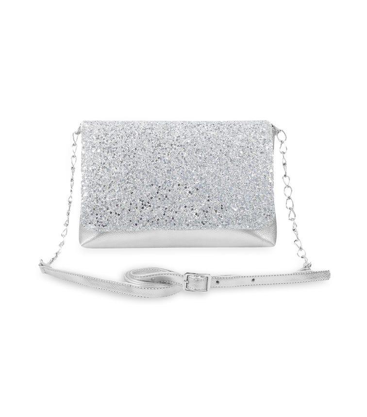 CHOUPETTE Silver-Plated Shoulder Bag