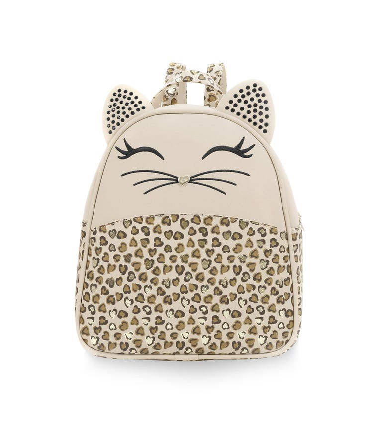 CHOUPETTE Leopard Print Backpack