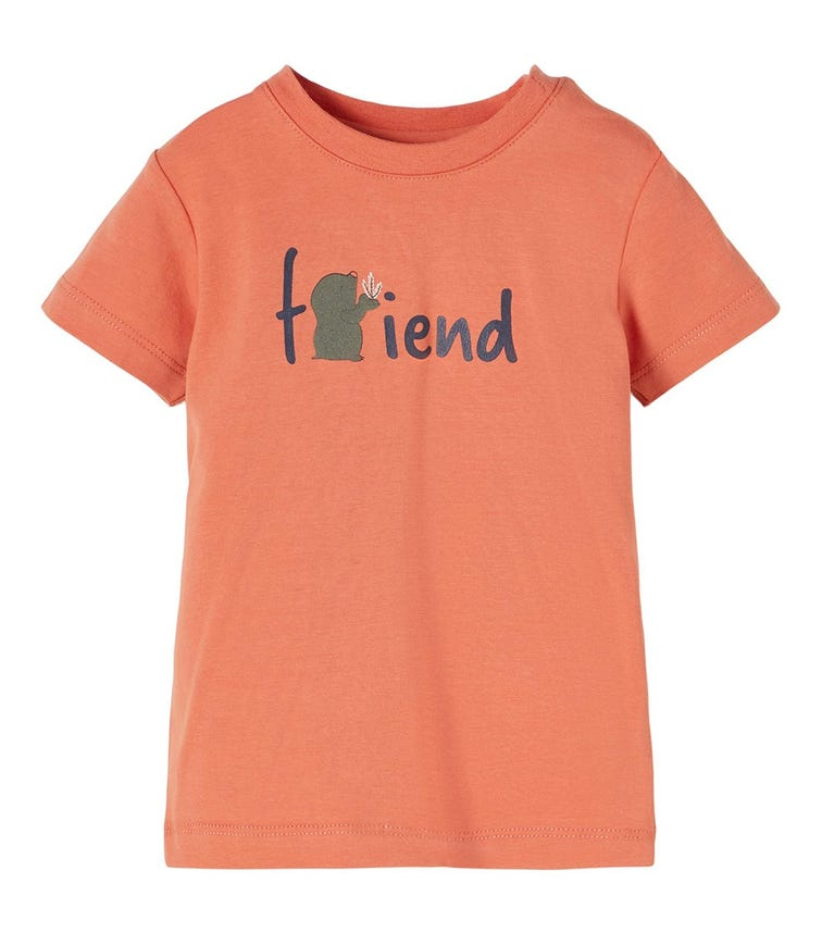 NAME IT Baby Boy Friend Printed T-Shirt
