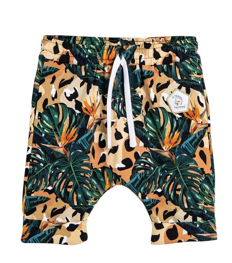 HEY POPINJAY Jungle-Boy Baggy Shorts