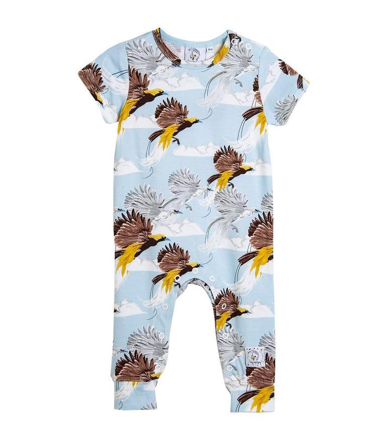 HEY POPINJAY Greater Bird Romper