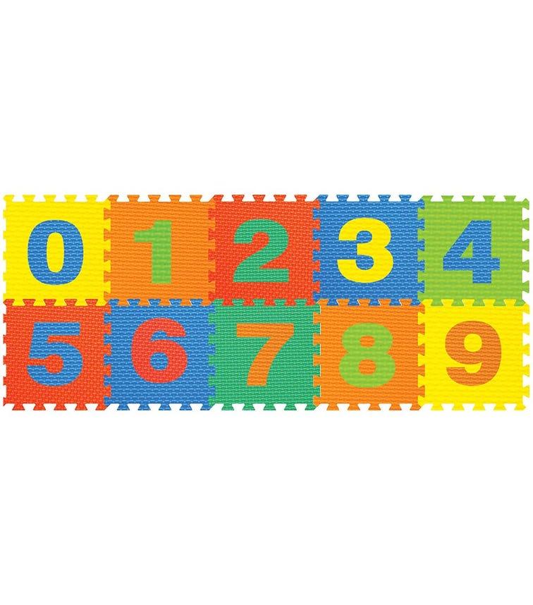 POWER JOY Puzzle Mat Number - 10 Pieces