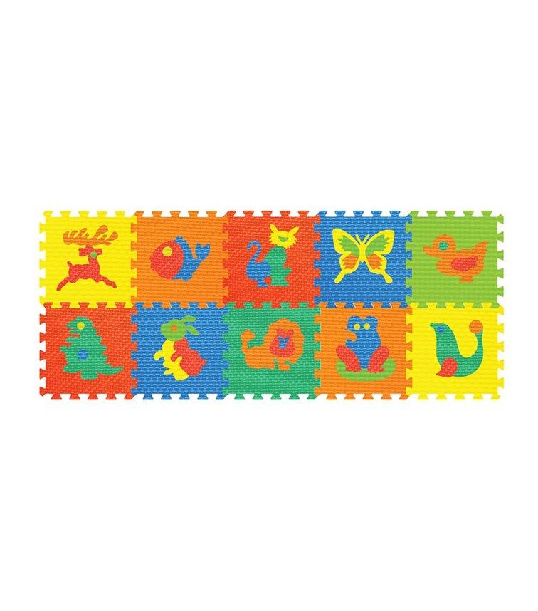 POWER JOY Puzzle Mat Animal - 10 Pieces