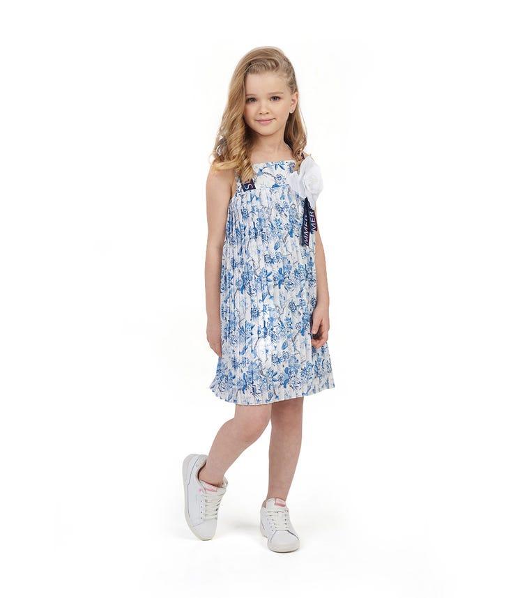 CHOUPETTE Aop Pleated Dress