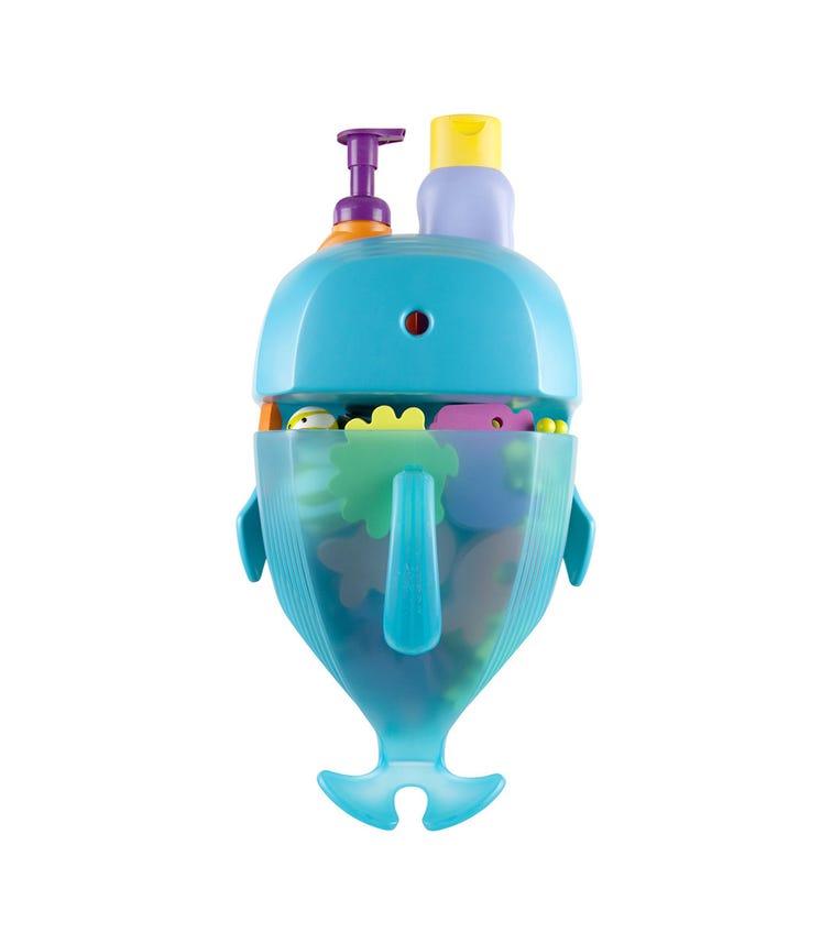 BOON Whale Pod Drain And Storage Bath Toy