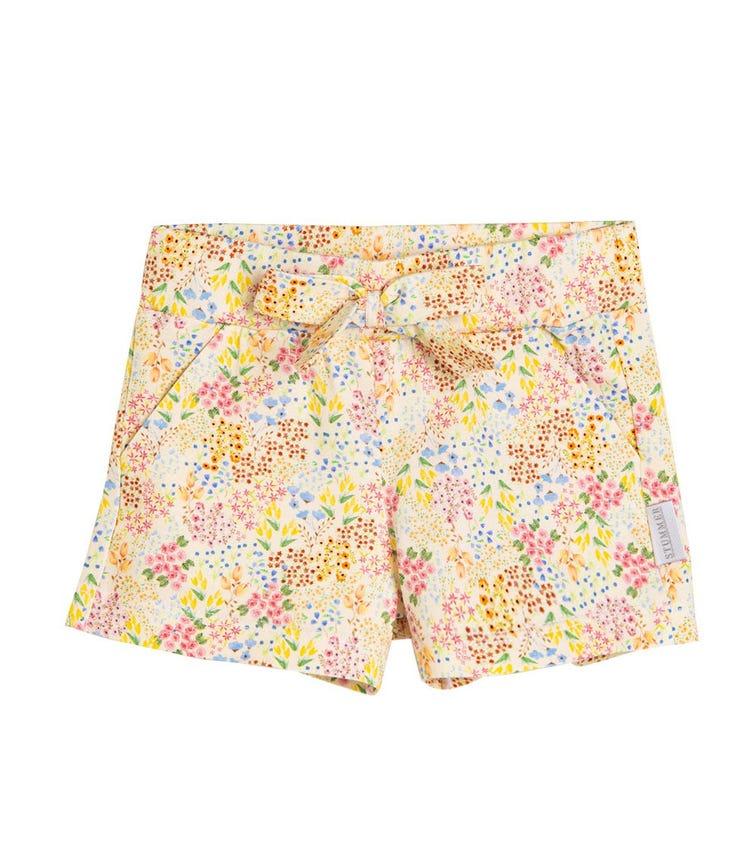 STUMMER Spotted Floral Shorts