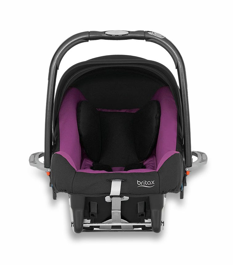 BRITAX Baby Safe Plus Car Seat SHR II From 0-13 Months Chilli Pepper