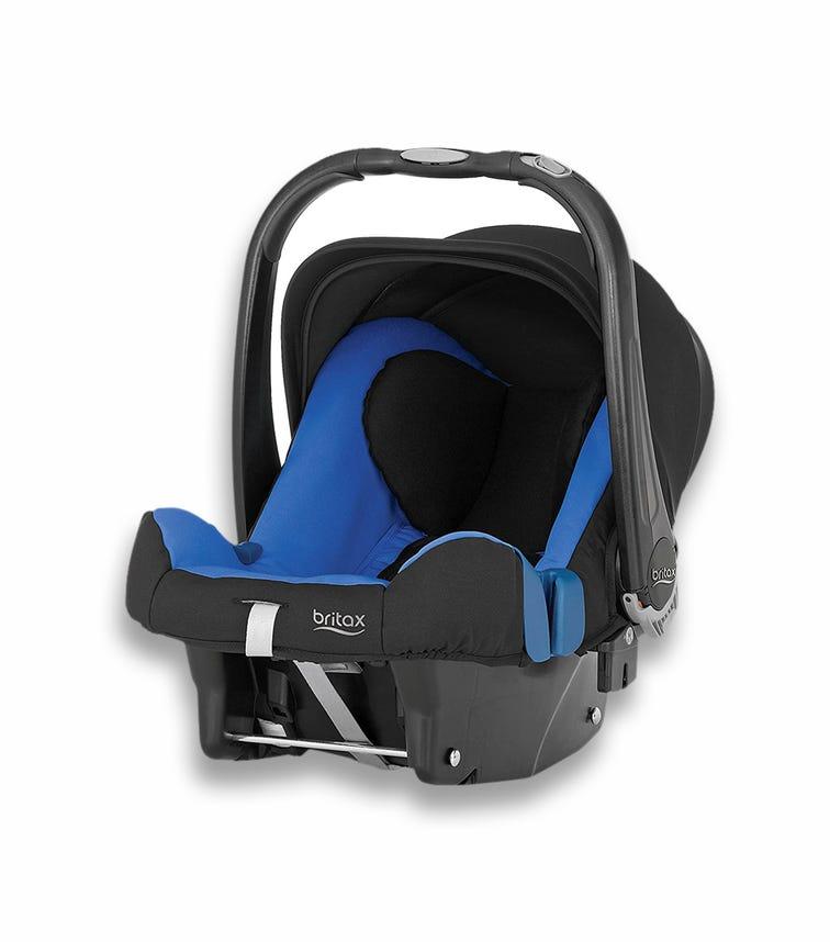 BRITAX Baby Safe Plus Car Seat SHR II From 0-13 Months Blue