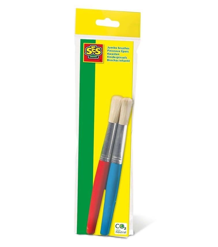 SES CREATIVE Jumbo Brushes (2 Pieces Set)